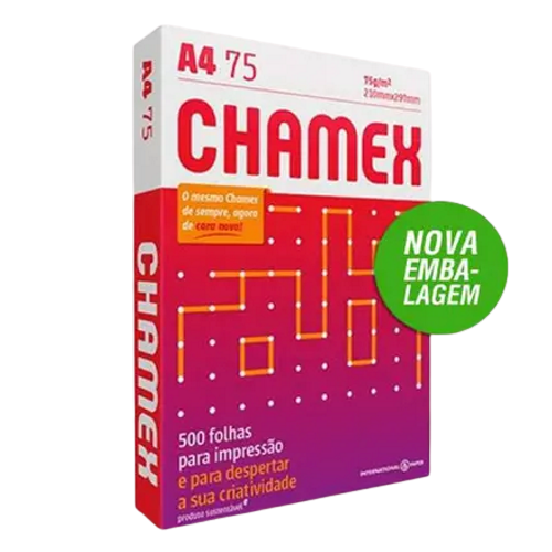 Papel A4 Chamex Office 75g/m² 210x297mm