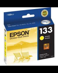 Cartucho de Tinta Epson 133 Amarelo T133420 Original