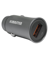 Carregador Veicular 1 USB 2.4A Kimaster CV-300