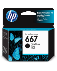 Cartucho de Tinta HP 667 Preto Advantage Original